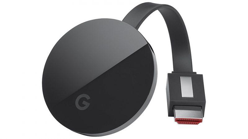 Google giới thiệu Chromecast Ultra hỗ trợ 4K và HDR