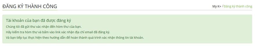 huong dan cach dang ky tai khoan myk+ now: dang ky thanh cong