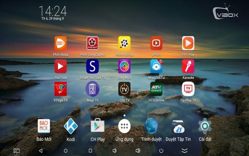 Hướng dẫn kết nối Android TV Box VIBOX V1 Mini