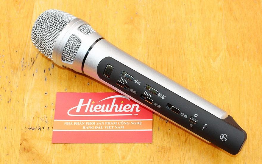 huong dan su dung micro tuxun k9 hat karaoke tren o to, xe hoi - tuxun k9 mua o dau, gia bao nhieu
