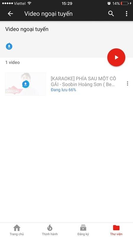 huong dan tai video karaoke hat offline tu youtube tren dien thoai android va ios