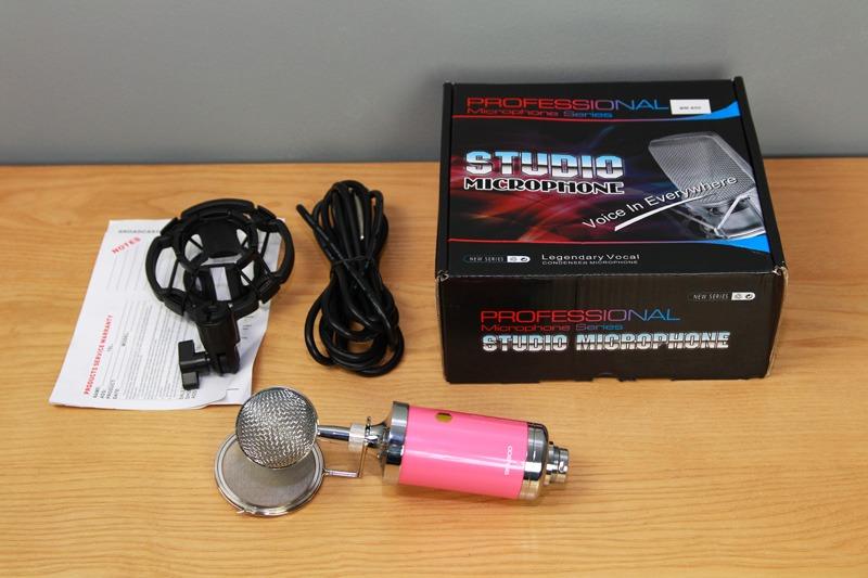 Cách sử dụng mic thu âm BM 900