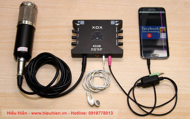 Hướng dẫn thu âm bài hát karaoke bằng micro BM-900 và Sound card XOX K10
