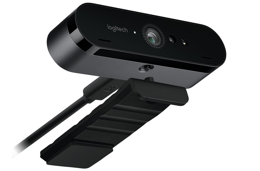 logitech brio 4k pro: chiec webcam co the quay 4k hdr, ho tro windows hello - anh 02