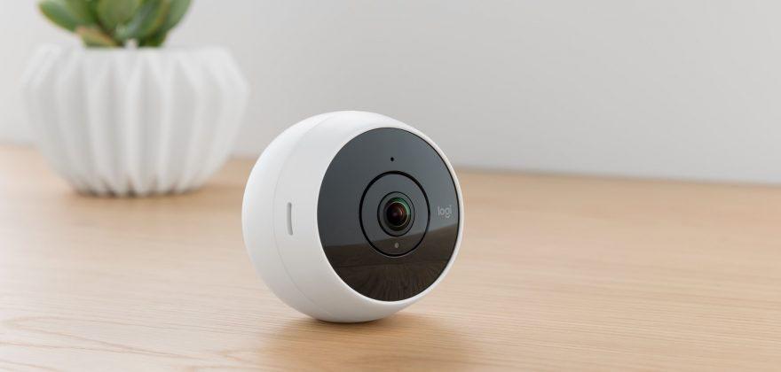 Logitech Circle 2: camera an ninh có góc nhìn 180 độ, giá 180$