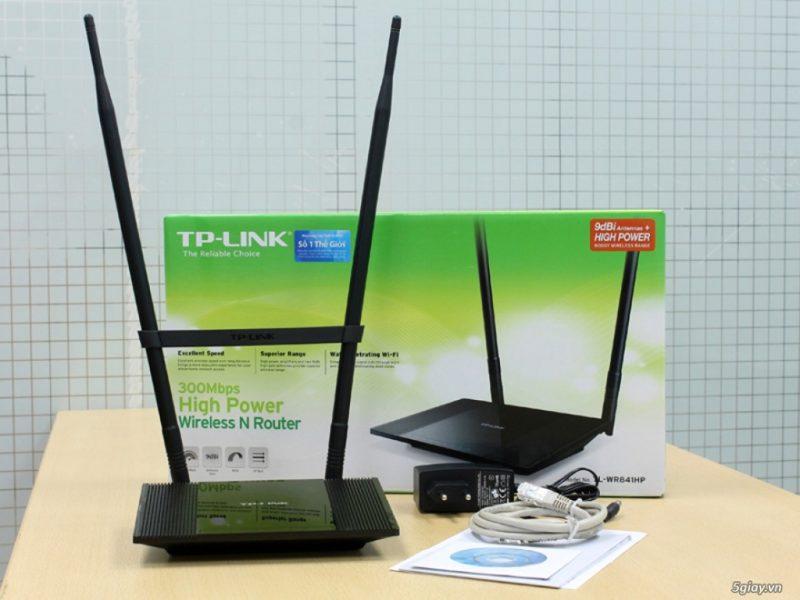 Mở hộp TP-LINK TL-WR841HP: Bộ phát Wifi xuyên tường công suất cao