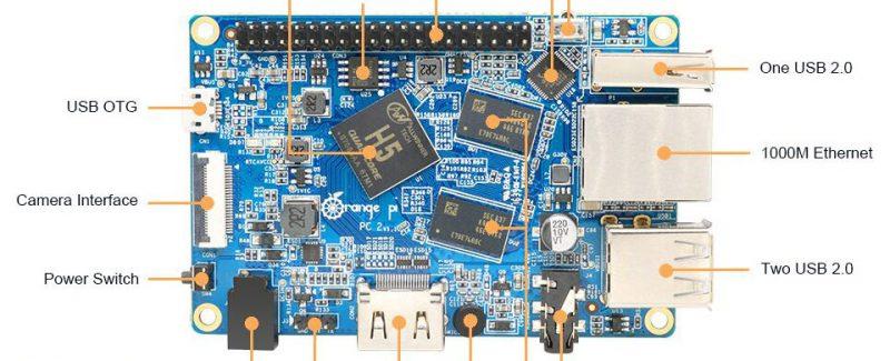 Orange Pi PC 2: Máy tính mini dùng chip lõi tứ giá chỉ 20 USD