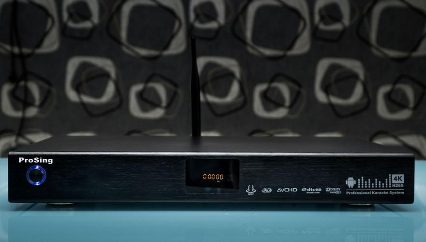 ProSing: Giải pháp Karaoke 4K thông minh cho gia đình