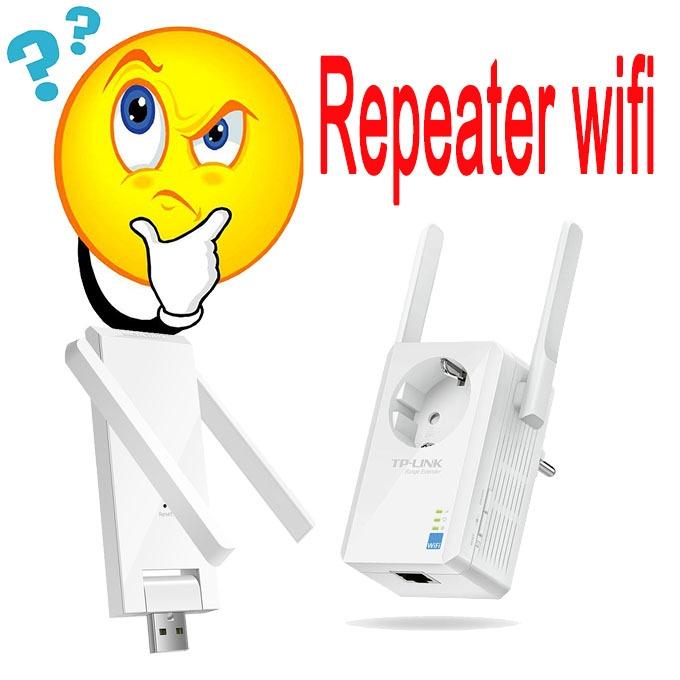 Repeater wifi là gì? Bộ kích sóng wifi là gì?