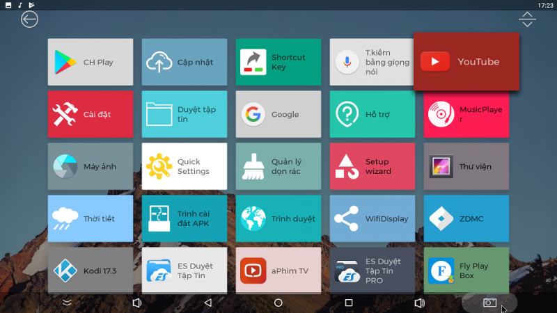 Trên tay Zidoo X7 - giao diện mới trên nền Android 7.1.2 - chạy mượt các ứng dụng