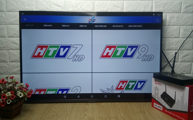 Ứng dụng HTVC xem truyền hình TP HCM và kênh địa phương miễn phí