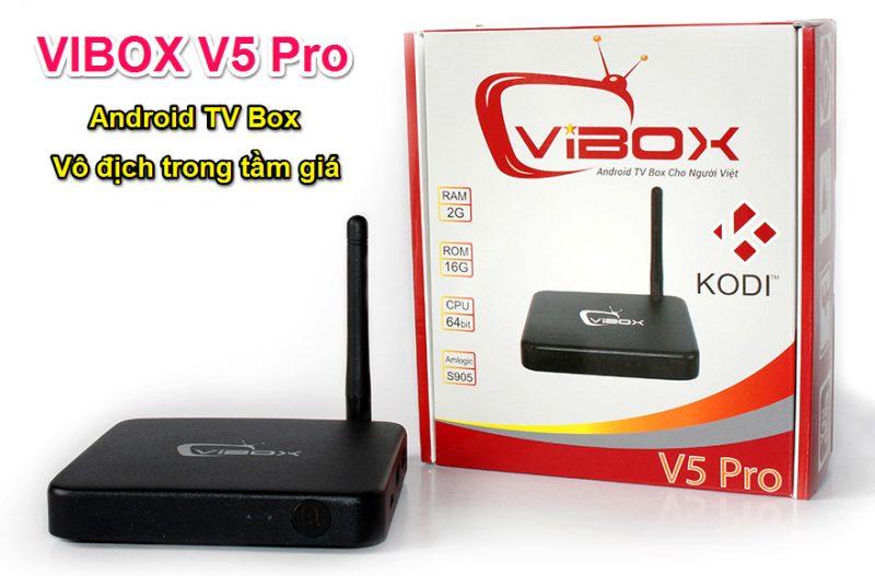 [Video] Đánh giá VIBOX V5 Pro - Android TV Box vô địch trong tầm giá