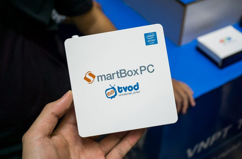 VNPT ra mắt SmartBox PC: chip Intel, chạy song song Windows và Android