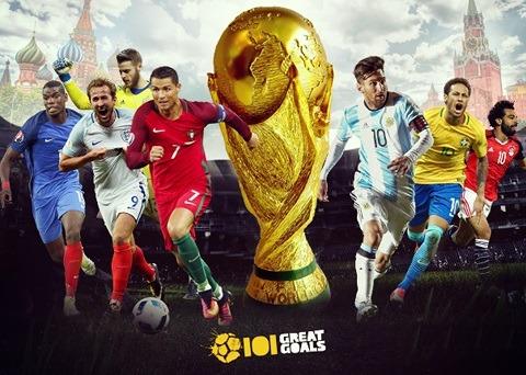 Lịch thi đấu World Cup 2018 trực tiếp trên VTV