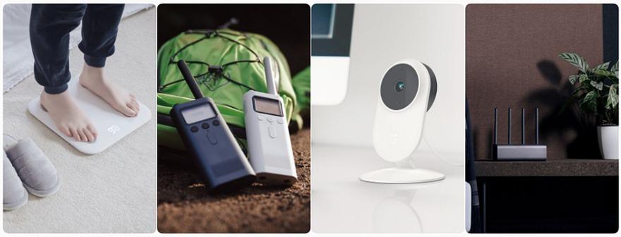 Xiaomi nâng cấp Mi Router Wifi, camera quan sát, cân điện tử, thêm dòng sản phẩm bộ đàm