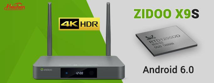 Video đánh giá sức mạnh ZIDOO X9S - Android TV Box hàng đầu thế giới