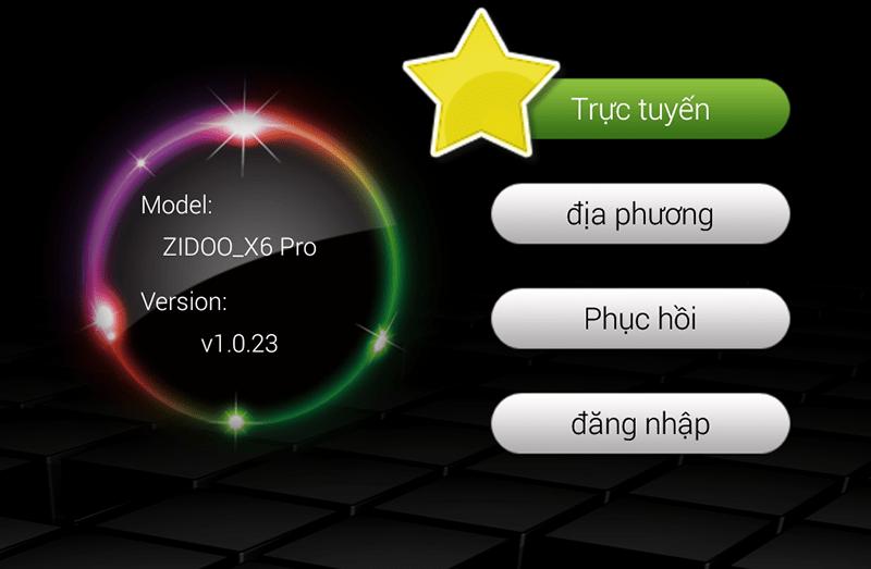 Cập nhật Firmware tự động qua OTA cho Zidoo X6 PRO
