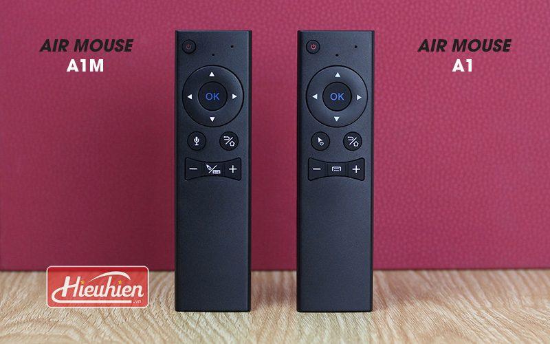 air mouse a1m - chuột bay tìm kiếm bằng giọng nói cho android tv box - remote và chuột bay