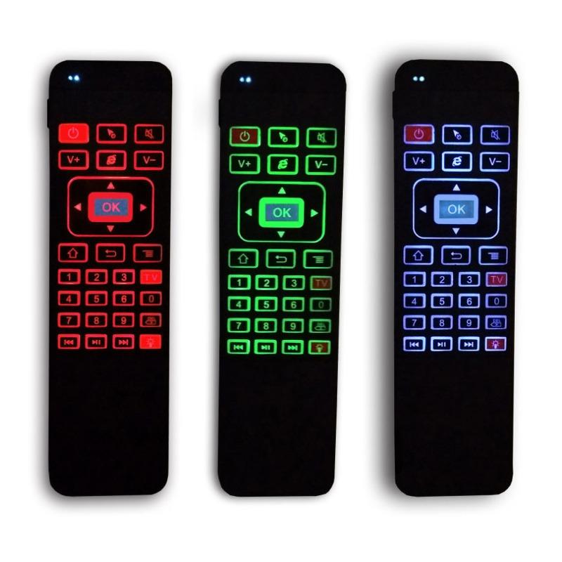 air mouse a5 pro - bàn phím chuột bay pin sạc cho android tv box