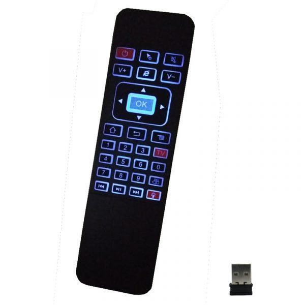 air mouse a5 pro - bàn phím chuột bay pin sạc cho android tv box - hình 03