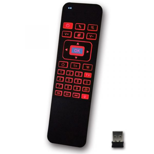 air mouse a5 pro - bàn phím chuột bay pin sạc cho android tv box - hình 04