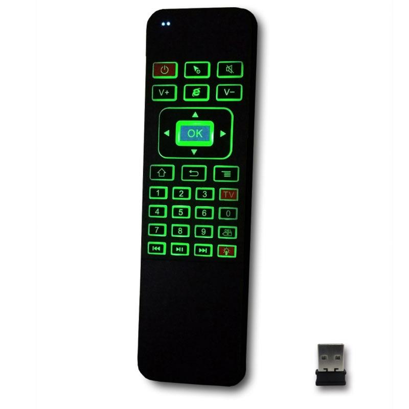 air mouse a5 pro - bàn phím chuột bay pin sạc cho android tv box - hình 05