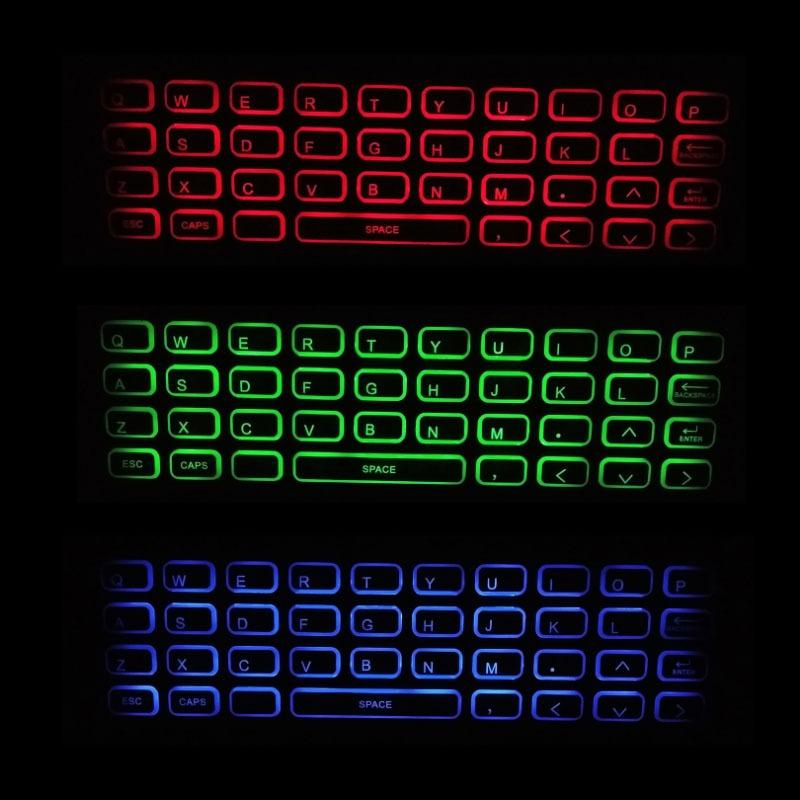 air mouse a5 pro - bàn phím chuột bay pin sạc cho android tv box - hình 06