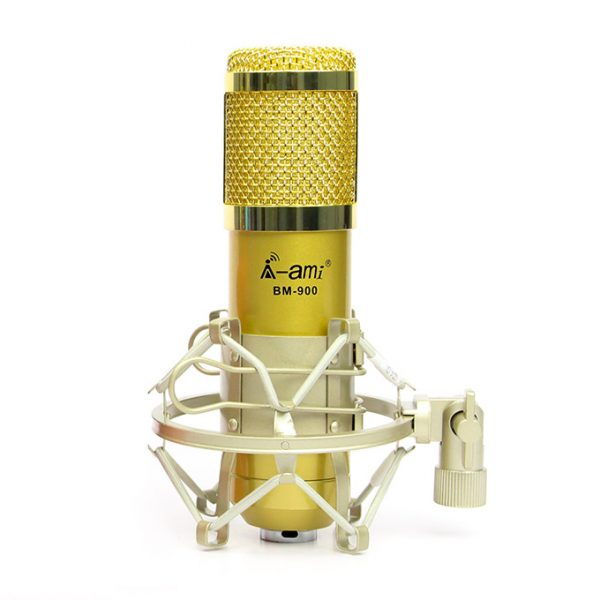 Micro Thu Âm AMI BM-900 - Mic Hát Karaoke Live Stream » Giá Rẻ 0