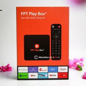 android tv box fpt play box + 2019 voice remote - hộp truyền hình thông minh điều khiển bằng giọng nói 01