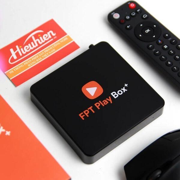 android tv box fpt play box + 2019 voice remote - hộp truyền hình thông minh điều khiển bằng giọng nói 02