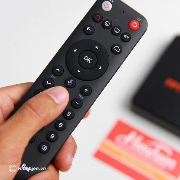android tv box fpt play box + 2019 voice remote - hộp truyền hình thông minh điều khiển bằng giọng nói 04