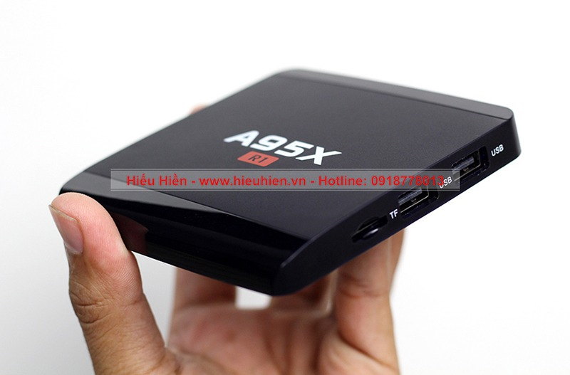 tv box a95x r1 nhỏ gọn