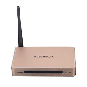 kiwibox s6 plus android tv box chính hãng
