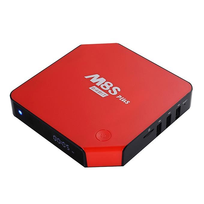 enybox m8s plus s905 màu đỏ cá tính
