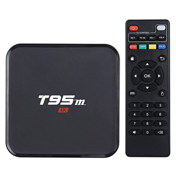 android tv box t95m amlogic s905x, ram 2gb, android 6.0 giá rẻ