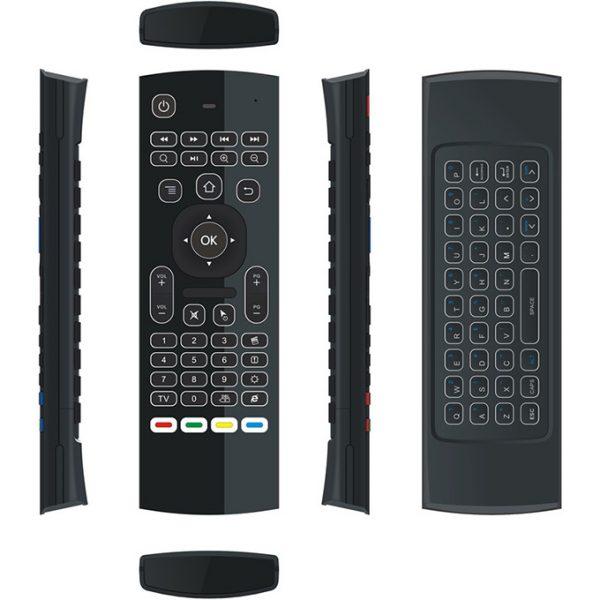 bàn phím chuột bay km800 pro (mx3 pro) cho android tv box chính hãng - hình 03