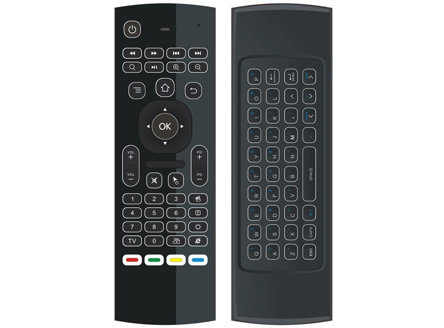 bàn phím chuột bay km800 pro (mx3 pro) cho android tv box chính hãng - hình 06