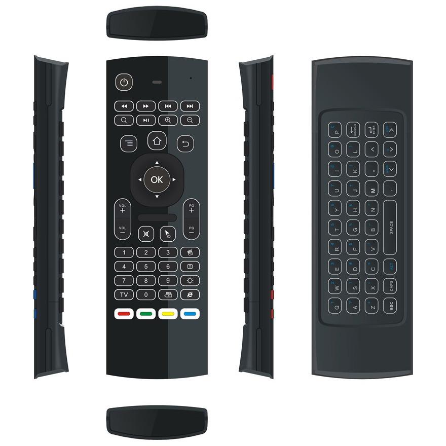 bàn phím chuột bay km800 pro (mx3 pro) cho android tv box chính hãng - hình 07