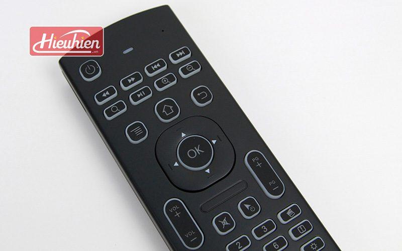 bàn phím chuột bay km800 pro có mic voice search tìm kiếm bằng giọng nói cho android tv box - phím