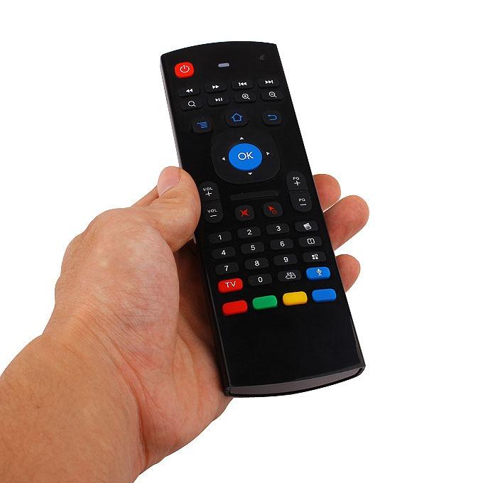 bàn phím chuột bay km800v có mic voice search (mx3 voice) cho android tv box - hình 04