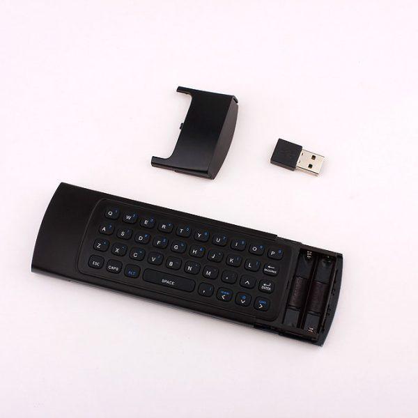 bàn phím chuột bay km800v có mic voice search (mx3 voice) cho android tv box - hình 06