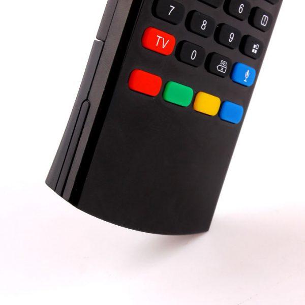 bàn phím chuột bay km800v có mic voice search (mx3 voice) cho android tv box - hình 07