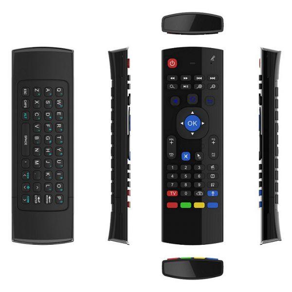 bàn phím chuột bay km800v có mic voice search (mx3 voice) cho android tv box - hình 09