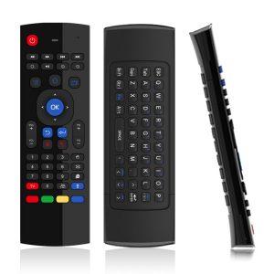 bàn phím chuột bay km900v có mic cho android tv box