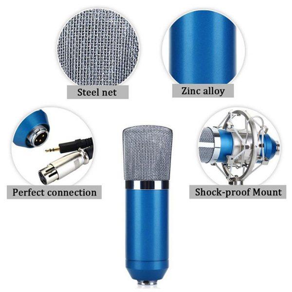 Micro Thu Âm BM-700 - Mic Hát Karaoke, Live Stream » Chính Hãng, Giá Rẻ 03