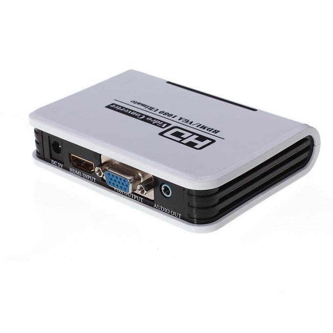 bộ chuyển đổi 1080p hdmi sang vga + audio