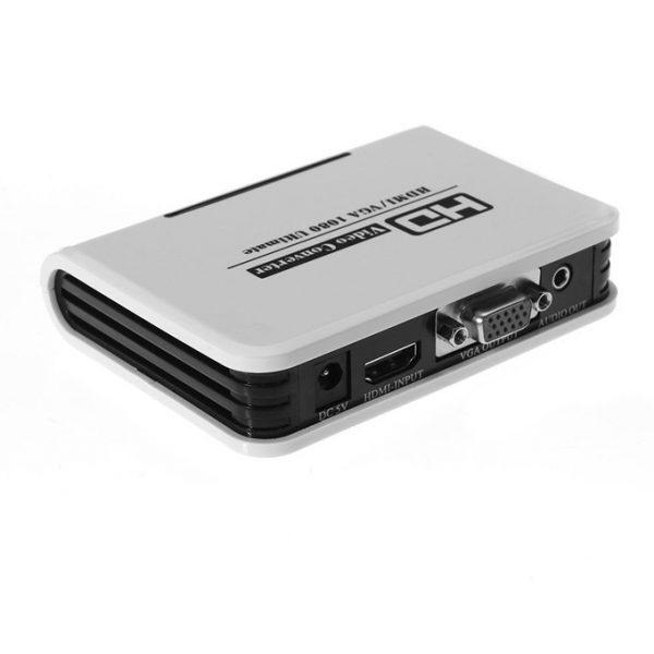 bộ chuyển đổi 1080p hdmi sang vga + audio - hình 03