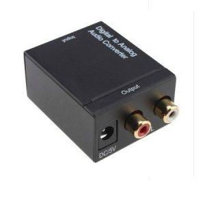 bộ chuyển đổi tín hiệu âm thanh tv optical ra av kết nối amply, loa