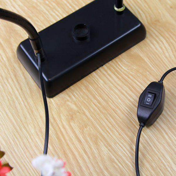 Bộ giá đỡ điện thoại Livestream có đèn LED LB-01 03