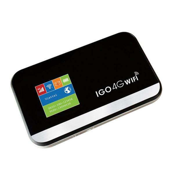 igo a368 - bộ phát wifi di động 4g, tốc độ 150mbps